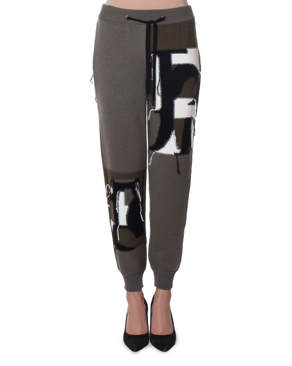 брюки спортивного кроя из шерсти и кашемира артикул FW170142 марки MRZ купить за 25200 руб.
