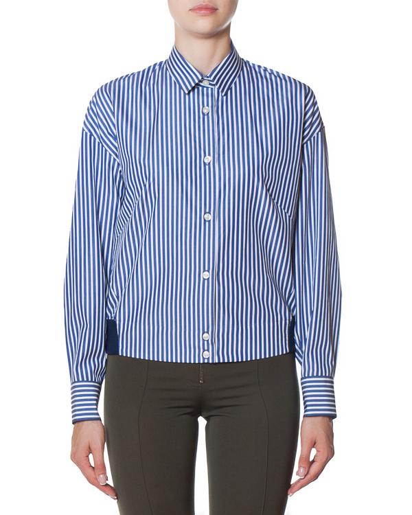 рубашка укороченного силуэта из хлопка артикул FW170280 марки MRZ купить за 17800 руб.