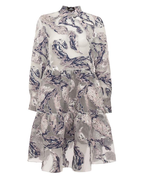 платье А-образного силуэта  артикул FW18305 марки KATЯ DOBRЯKOVA купить за 8600 руб.