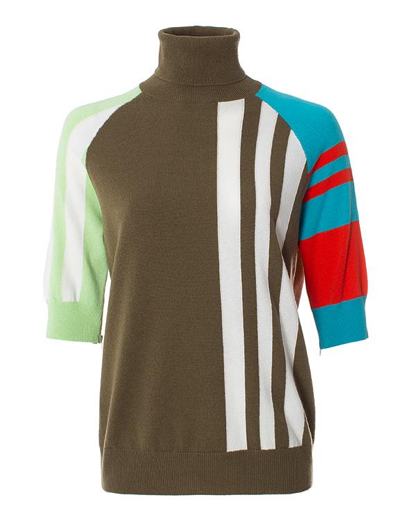 MRZ в стиле color block из шерсти мериноса и кашемира  артикул  марки MRZ купить за 41600 руб.