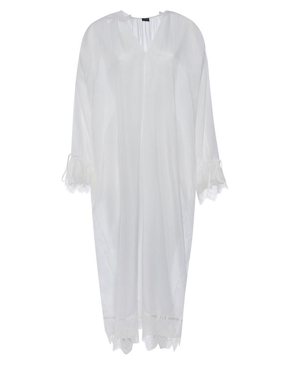 платье сорочка из хлопка с отделкой кружевом  артикул G07D158 марки Graviteight купить за 28600 руб.