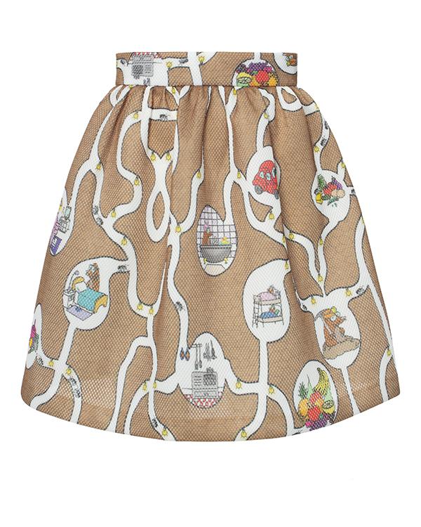 юбка  артикул G20TALPE марки Ultra Chic купить за 4100 руб.