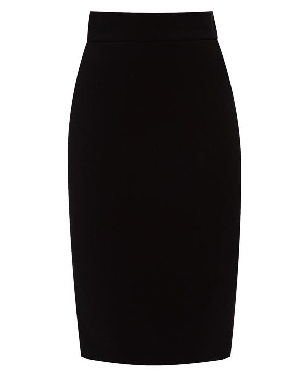 юбка с высокой посадкой  артикул G355 марки DONDUP купить за 11700 руб.
