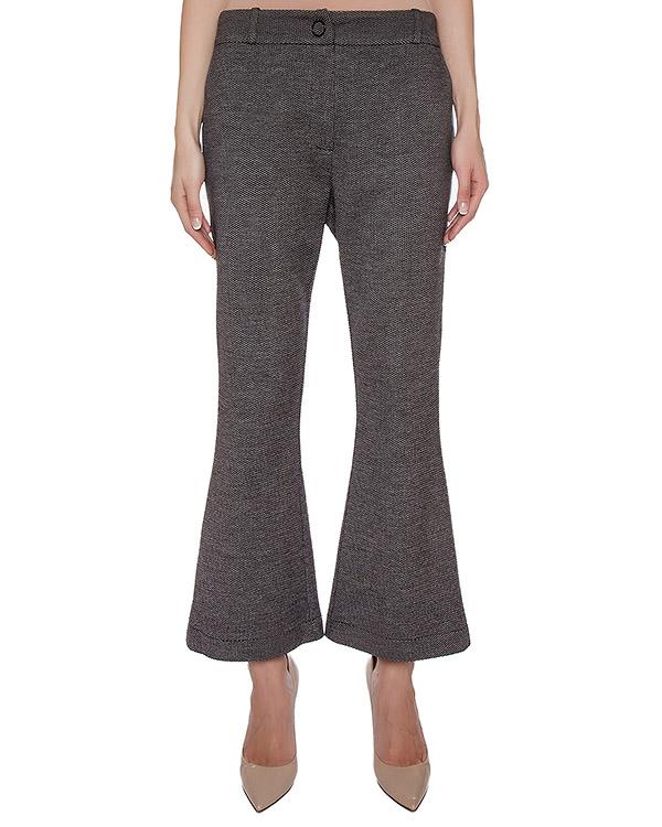 брюки расклешенные, из шерстяного трикотажа артикул GF16307F317 марки GRINKO купить за 7400 руб.