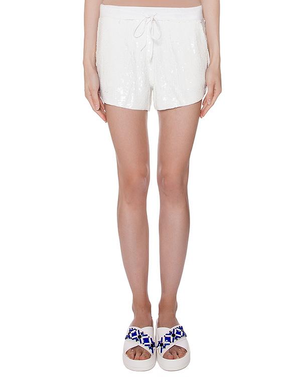 шорты полностью расшитые пайетками артикул GILK210503 марки P.A.R.O.S.H. купить за 9400 руб.