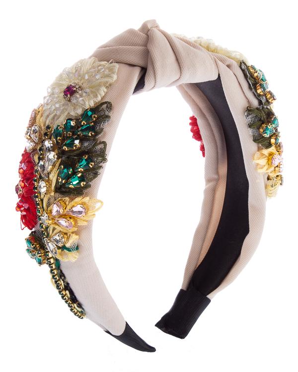 Marina Fossati с отделкой кристаллами и текстилем  артикул  марки Marina Fossati купить за 15900 руб.