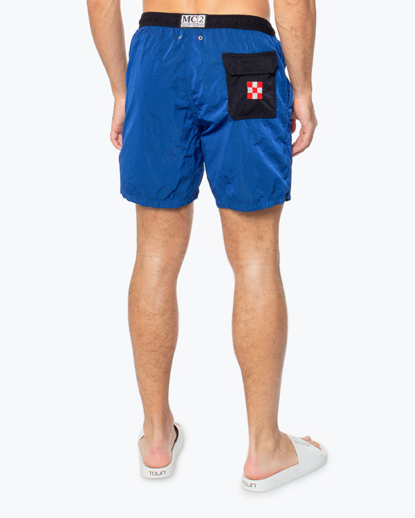 шорты для плавания MC2 Saint Barth, сезон: лето 2020. Купить за 12900 руб.   Фото 3