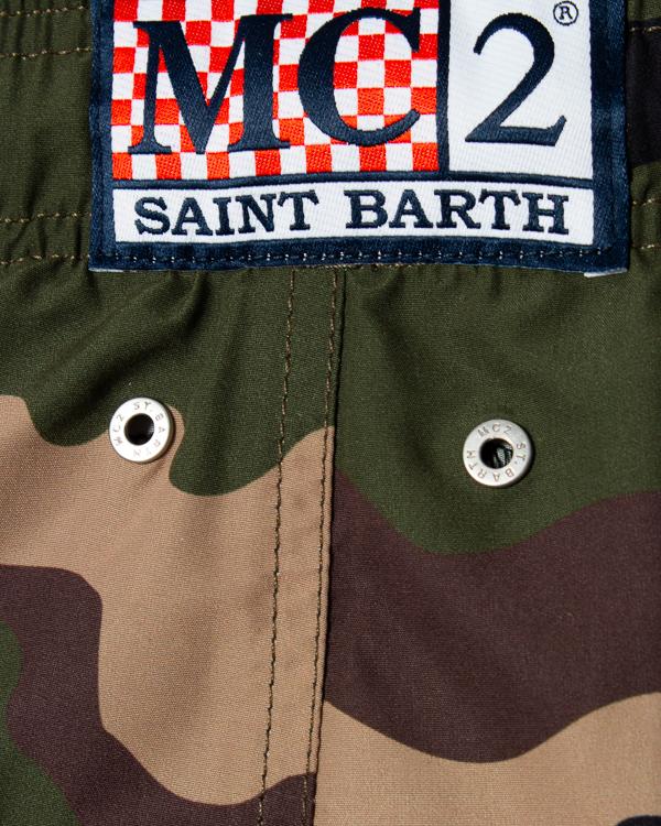 шорты для плавания  MC2 Saint Barth, сезон: лето 2020. Купить за 16300 руб.   Фото 4