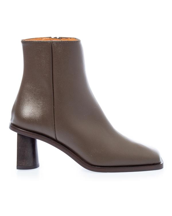 Rejina Pyo из кожи на архитектурном каблуке артикул  марки Rejina Pyo купить за 64300 руб.