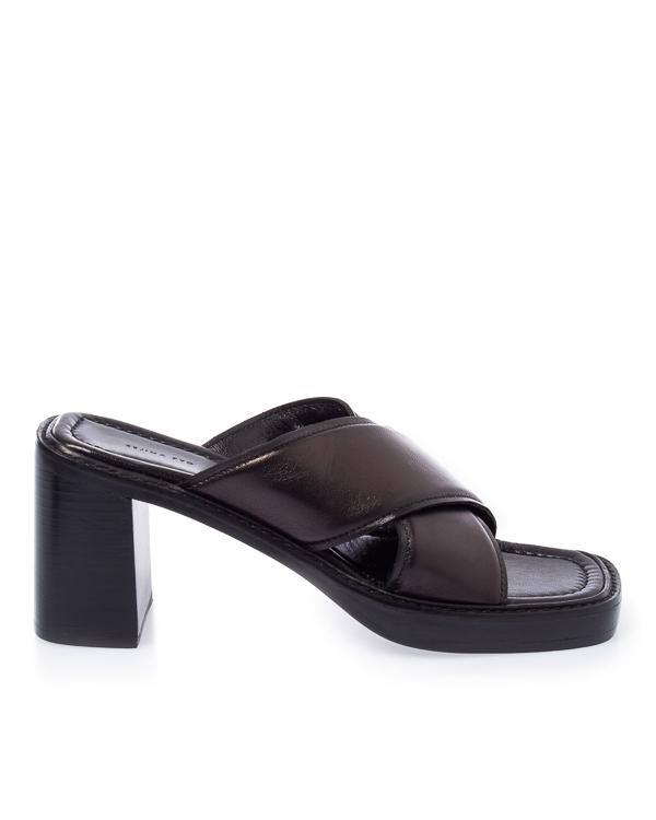 Rejina Pyo из кожи на наборном каблуке  артикул  марки Rejina Pyo купить за 53500 руб.