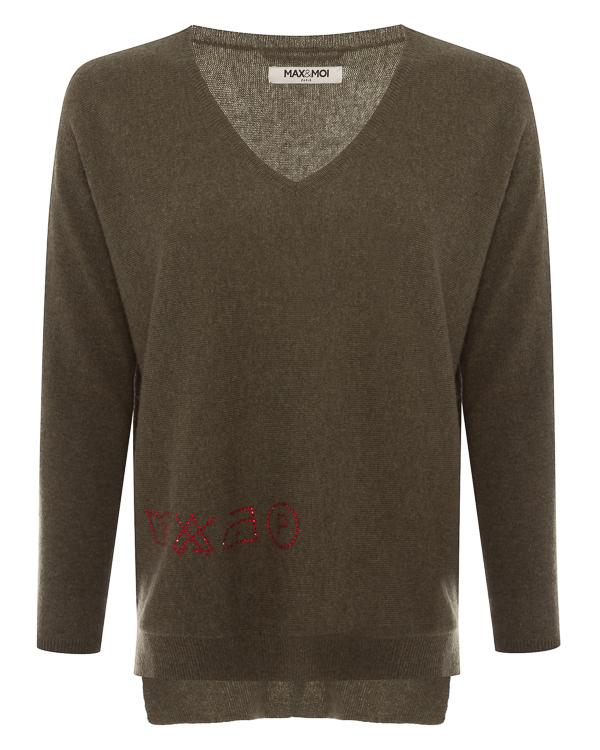 пуловер из шерсти и кашемира  артикул H18REGINA марки MAX&MOI купить за 23600 руб.