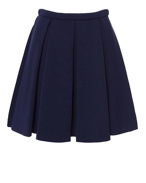 юбка из плотного трикотажа, драпированная крупными складками артикул H4CMJV марки Manoush купить за 9400 руб.