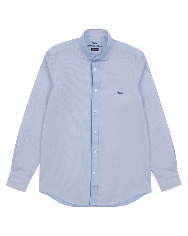 рубашка классического кроя из хлопка артикул HBC0296 марки Harmont & Blaine купить за 7800 руб.