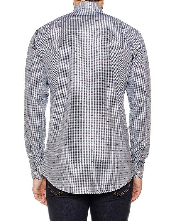 мужская рубашка Harmont & Blaine, сезон: зима 2016/17. Купить за 7500 руб. | Фото $i