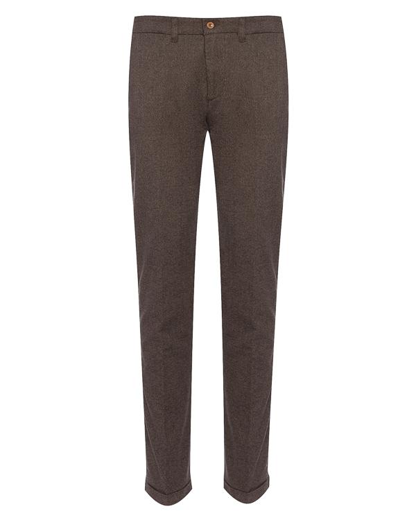 брюки классического кроя из хлопка артикул HBW3139 марки Harmont & Blaine купить за 9500 руб.