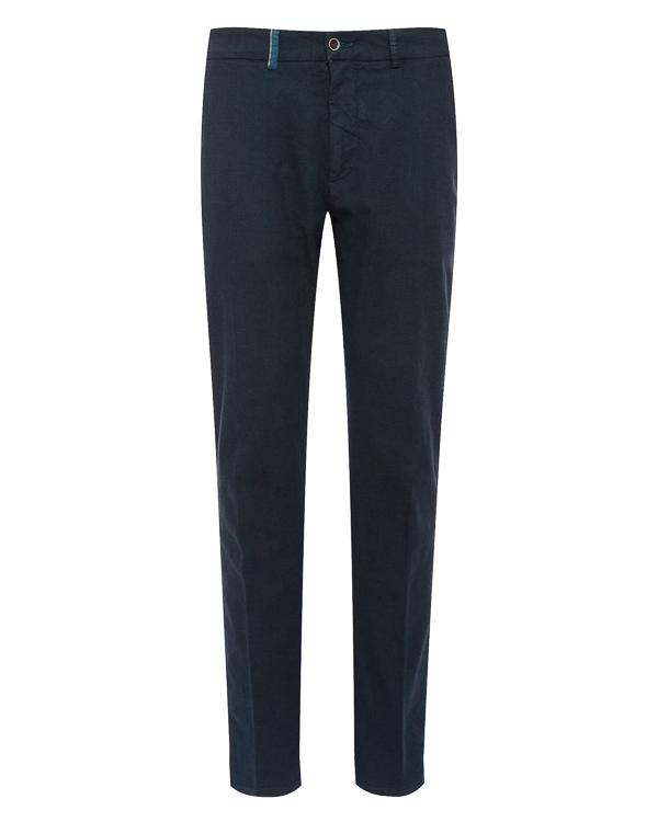 брюки классического кроя из хлопка артикул HBW3231 марки Harmont & Blaine купить за 11100 руб.