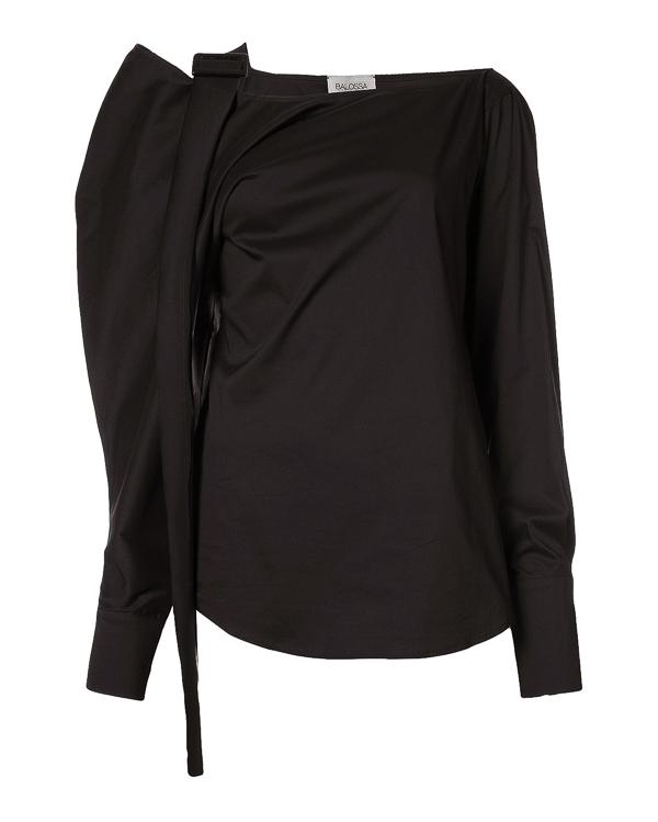 Balossa из рубашечного хлопка с открытым плечом артикул  марки Balossa купить за 9600 руб.