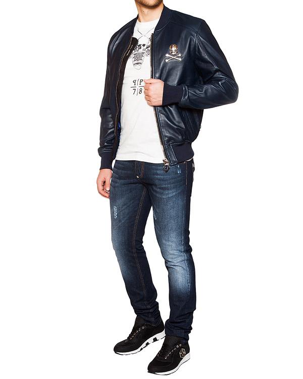 мужская джинсы PHILIPP PLEIN, сезон: лето 2016. Купить за 23800 руб. | Фото $i