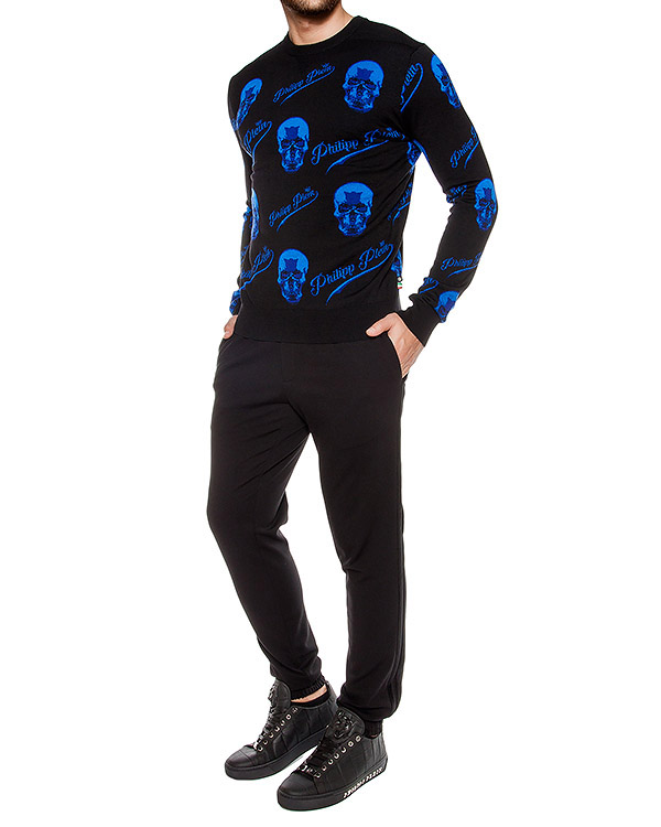 мужская джемпер PHILIPP PLEIN, сезон: зима 2016/17. Купить за 33000 руб. | Фото $i