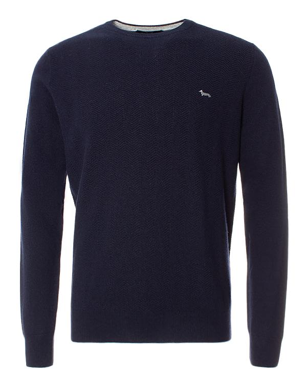 Harmont & Blaine из фактурной шерсти с фирменной вышивкой артикул  марки Harmont & Blaine купить за 14900 руб.