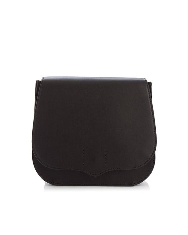 сумка Sunday saddle bag с цветным плечевым ремнем артикул HU17ESYL19 марки Rebecca Minkoff купить за 20000 руб.