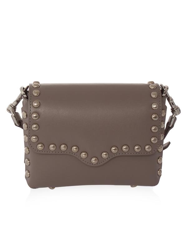 сумка Blythe из гладкой кожи  артикул HU18EBHX25HB марки Rebecca Minkoff купить за 25600 руб.
