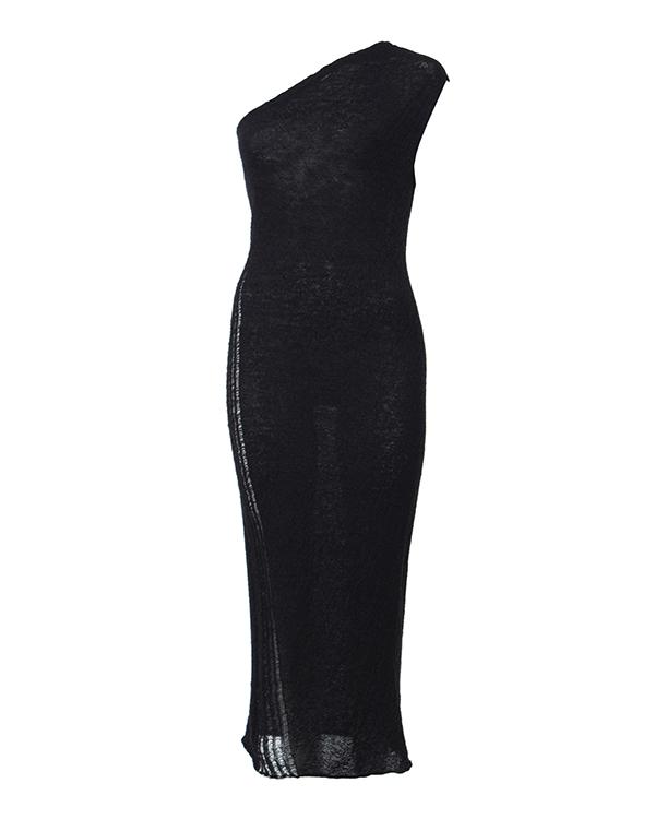 MALLONI на одно плечо из тонкой шерсти, сбоку декорировано спущенными петлями  артикул I16I20396 марки MALLONI купить за 8400 руб.