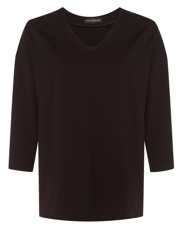 блуза из вискозы прямого силуэта  артикул IF18B2VL марки Inna Honour купить за 18700 руб.