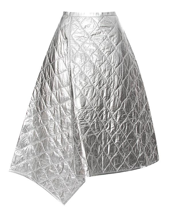 Juun.J миди из металлизированного нейлона артикул  марки Juun.J купить за 20000 руб.