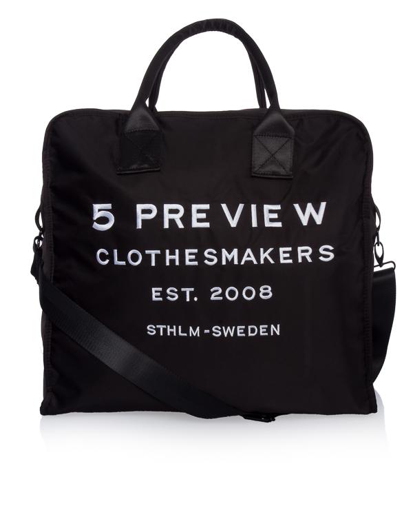 5Preview с логотипом бренда и съемным плечевым ремнем  артикул  марки 5Preview купить за 9000 руб.