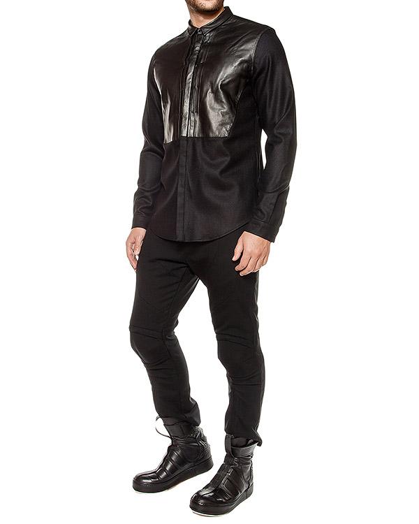 мужская рубашка Juun.J, сезон: зима 2016/17. Купить за 18900 руб. | Фото $i