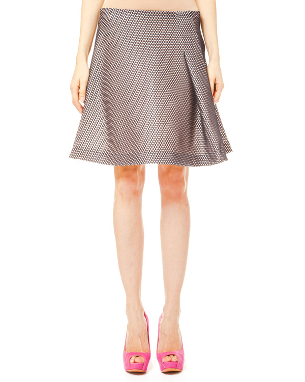 юбка из перфорированной ткани артикул JDC122C марки Jil Sander купить за 10100 руб.