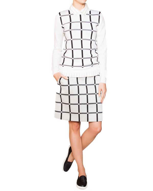 женская юбка Jil Sander, сезон: зима 2015/16. Купить за 8800 руб. | Фото $i