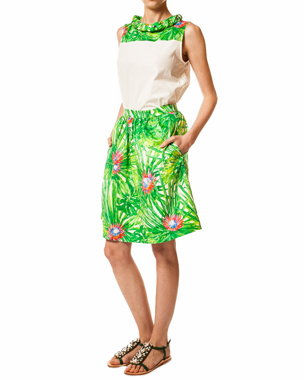 женская юбка JO NO FUI, сезон: лето 2014. Купить за 8800 руб. | Фото $i
