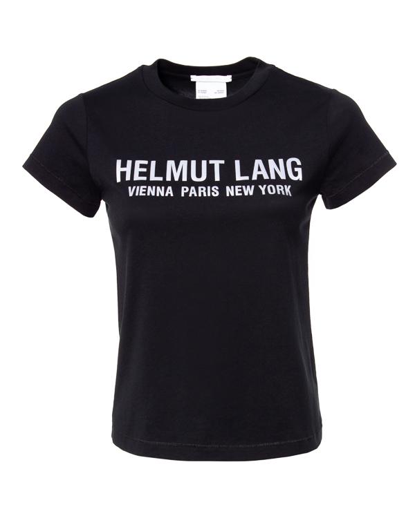 HELMUT LANG полуприлегающего силуэта с логотипом бренда артикул  марки HELMUT LANG купить за 23000 руб.