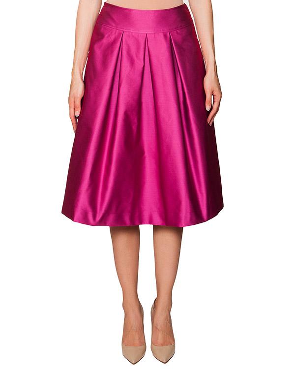 юбка в складку из плотной блестящей ткани артикул KALTER марки Essentiel купить за 7900 руб.