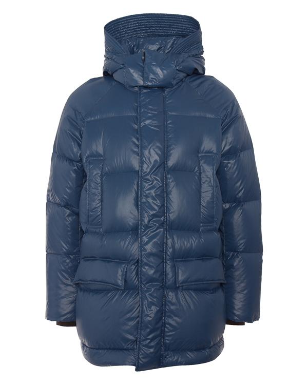 ADD из глянцевого текстиля с капюшоном  артикул KAM050 марки ADD купить за 31400 руб.