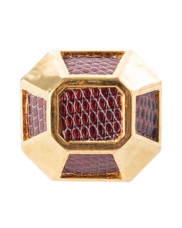 KARA ROSS из металла с отделкой кожей ящерицы  артикул  марки KARA ROSS купить за 4700 руб.
