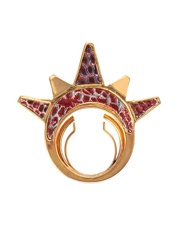 KARA ROSS из металла с отделкой кожей ящерицы  артикул  марки KARA ROSS купить за 4400 руб.