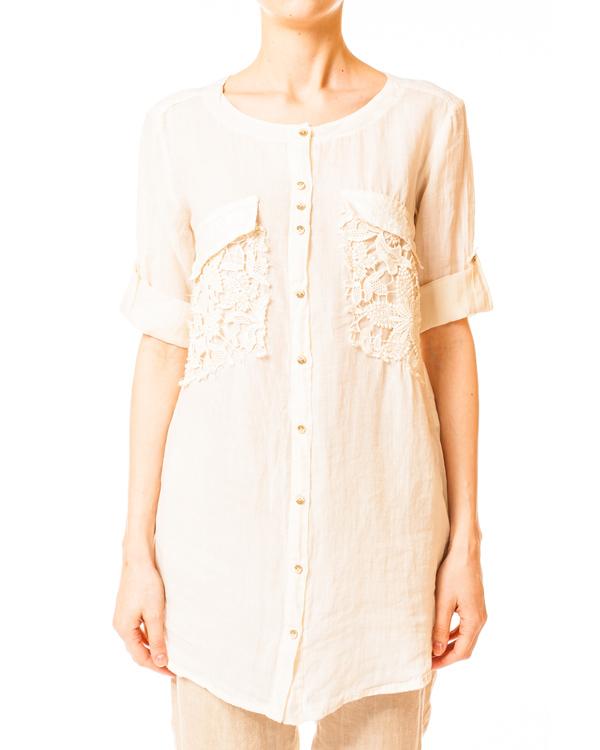 женская блуза Nana Nucci, сезон: лето 2014. Купить за 5900 руб. | Фото $i