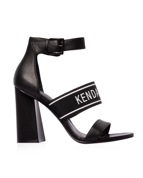 Kendall+Kylie из кожи на устойчивом каблуке  артикул  марки Kendall+Kylie купить за 12300 руб.