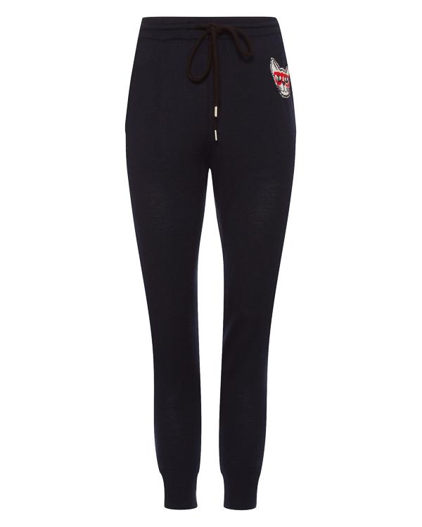 брюки в спортивном стиле из трикотажной шерсти  артикул KN2395 марки Markus Lupfer купить за 31400 руб.