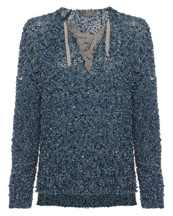 свитер вязаный с завязками  артикул KS1543144 марки Graviteight купить за 13800 руб.