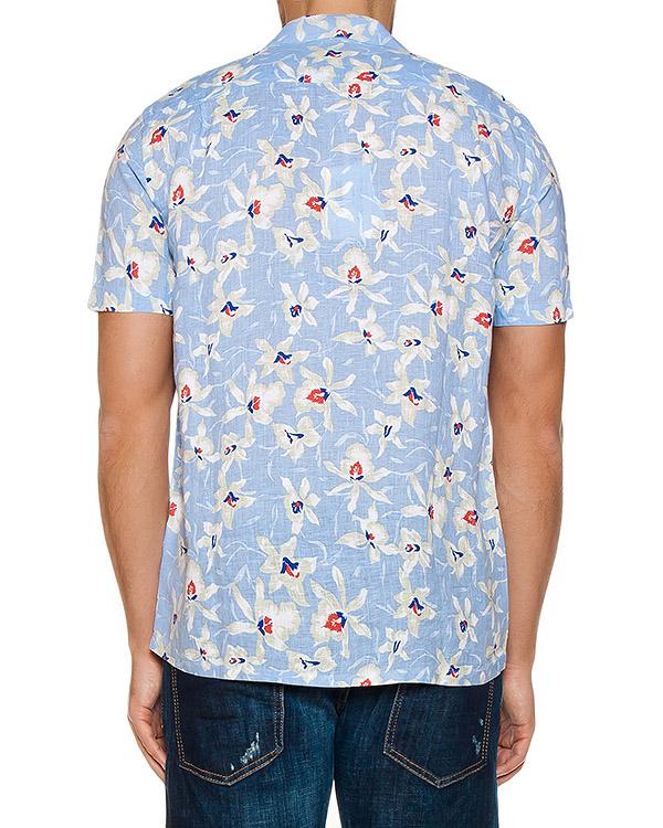 мужская рубашка 120% lino, сезон: лето 2017. Купить за 5000 руб.   Фото $i