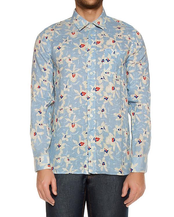 рубашка  артикул L0M1536 марки 120% lino купить за 5700 руб.