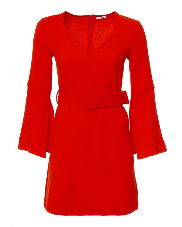 платье из шерстяного материала с поясом артикул LACHI721361 марки P.A.R.O.S.H. купить за 26000 руб.