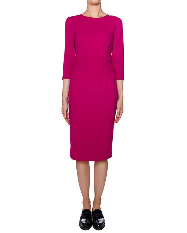 платье футляр приталенного кроя из мягкой шерсти артикул LAKIXY700011 марки P.A.R.O.S.H. купить за 16800 руб.