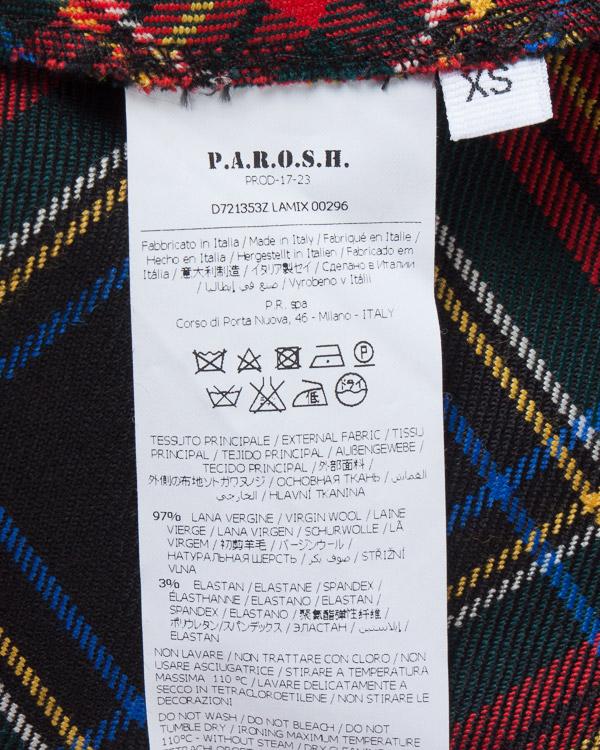 женская платье P.A.R.O.S.H., сезон: зима 2017/18. Купить за 24200 руб.   Фото $i
