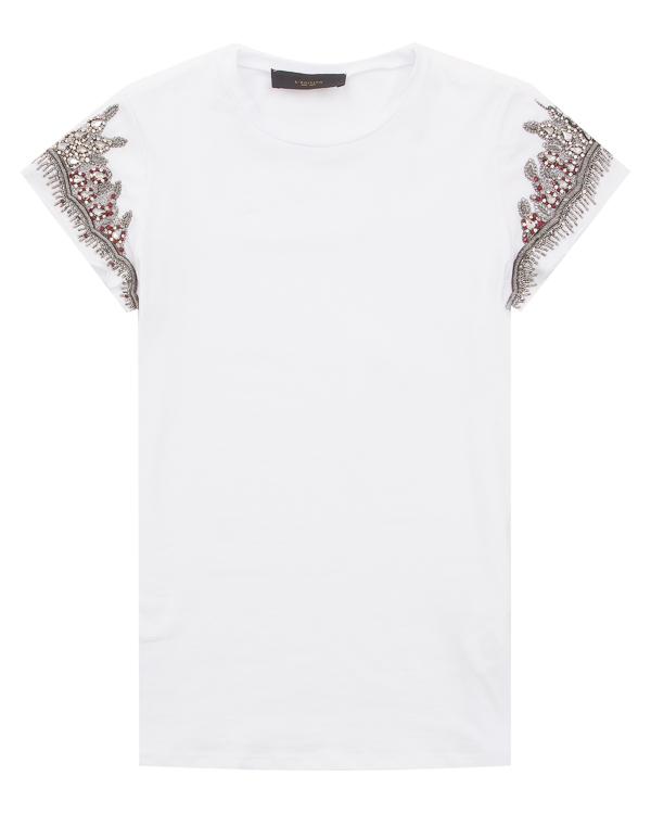 женская футболка L'Edition, сезон: лето 2018. Купить за 22900 руб. | Фото $i