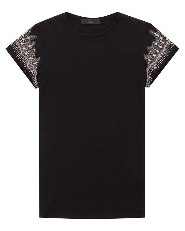женская футболка L'Edition, сезон: лето 2018. Купить за 11500 руб. | Фото $i